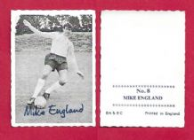 Tottenham Hotspur Mike England Wales 8 (A&BC)